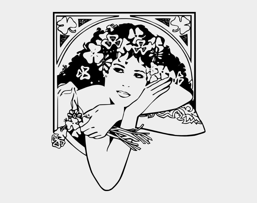 sexy mermaid clipart, Cartoons - Dia De La Mujer Blanco Y Negro