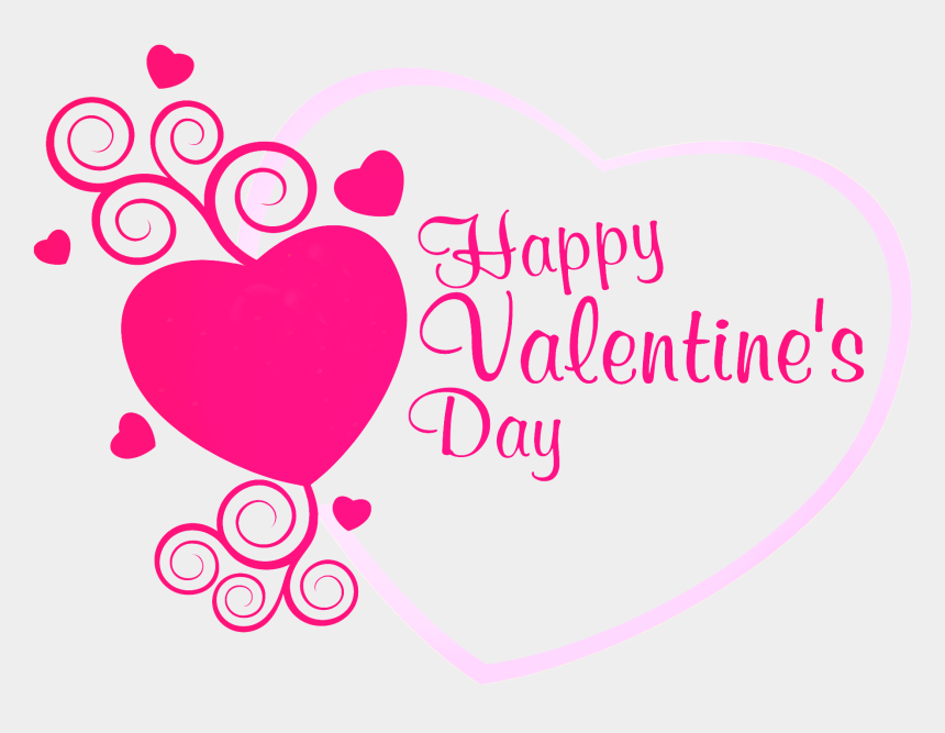 valentines clipart png, Cartoons - Download Happy Valentines Day Png Transparent Images - Pink Happy Valentines Day