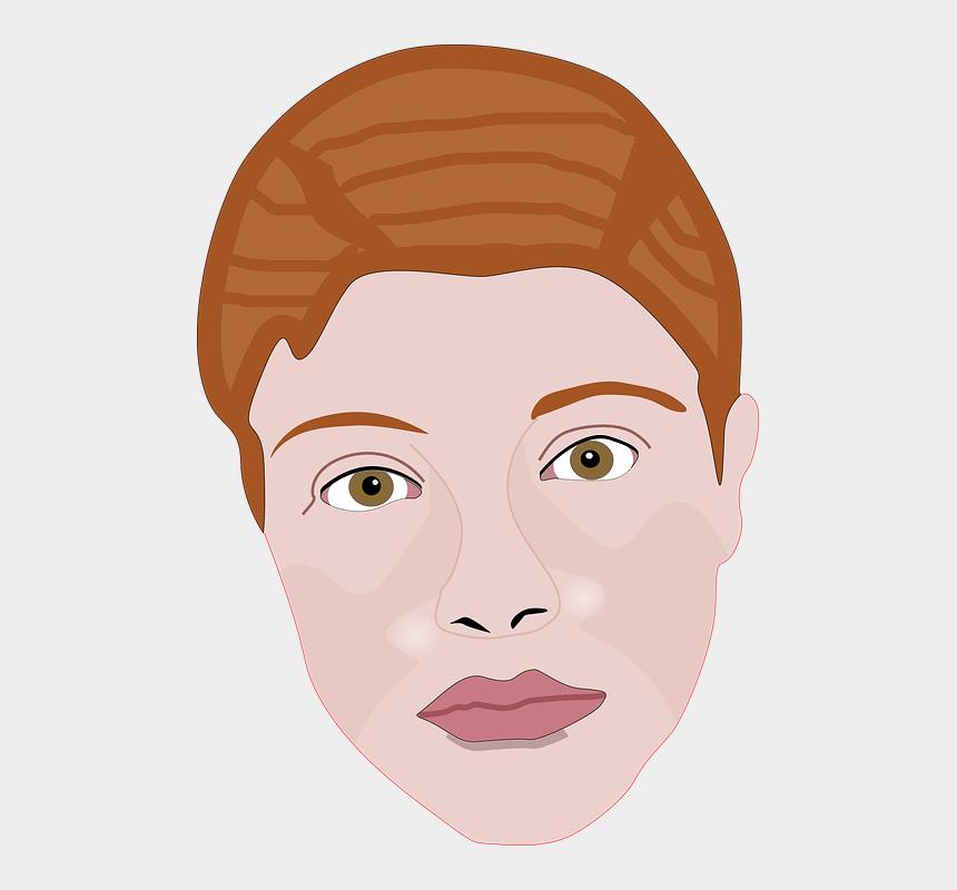 human face clipart, Cartoons - Woman Face Human Female Head Lips - Imagenes De Cara Del Cuerpo Humano