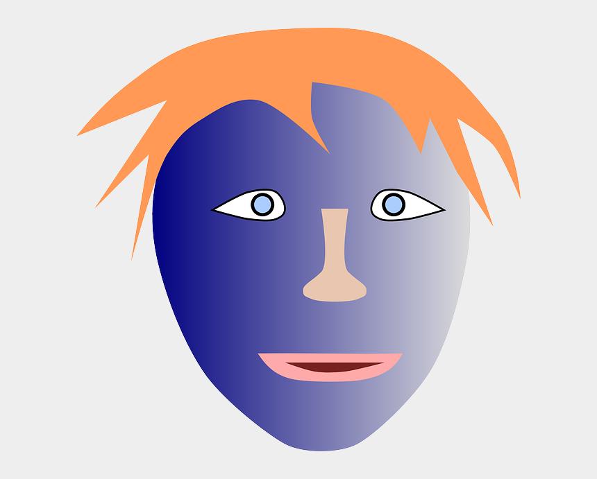 human face clipart, Cartoons - Kids Head, User, Boy, Man, Kid, Face, Human, Kids - Illustration