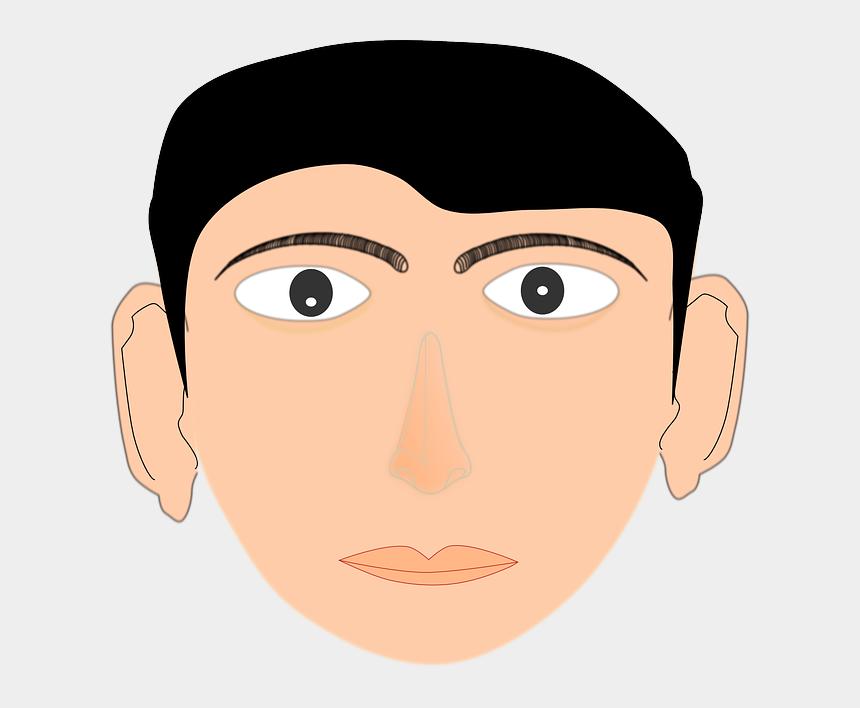 human face clipart, Cartoons - Human Boy, Face, Man, Adult, Person, Portrait, Human - Wajah Laki Laki Kartun
