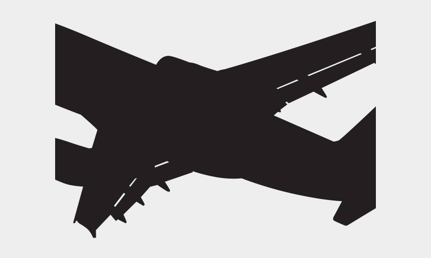 aircraft cliparts, Cartoons - Airplane Clipart Silhouette - Transparent Background Plane Clip Art