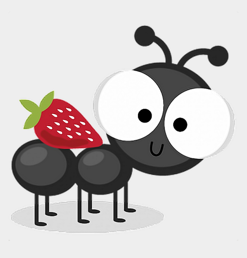 picnic ant clipart, Cartoons - #strawberry #ant #picnic #bug #summer #cute #remixit - Picnic Ant Clip Art