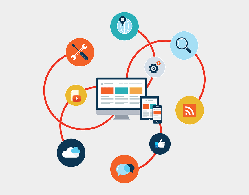 solutions clipart, Cartoons - Software Development Clipart Solution - Web Application Development Png