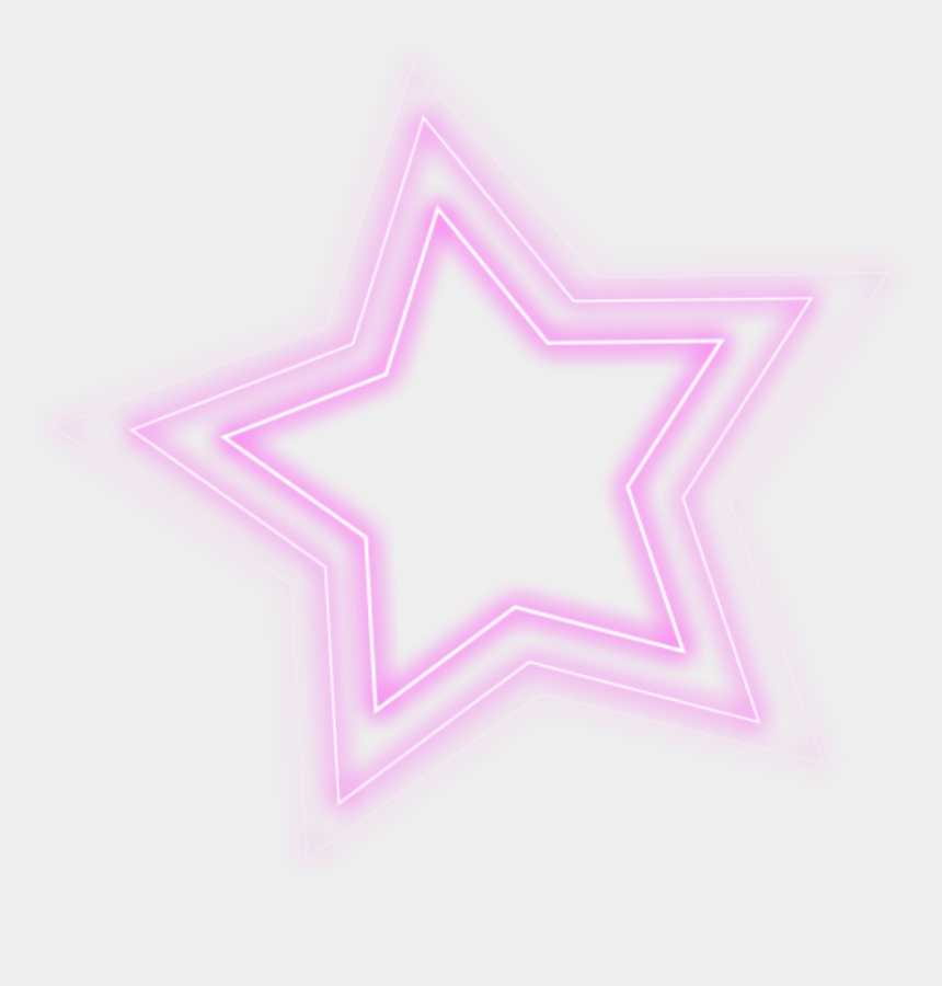 glowing star clipart, Cartoons - #ftestickers #star #glowing #pink - Pink Glowing Star Png