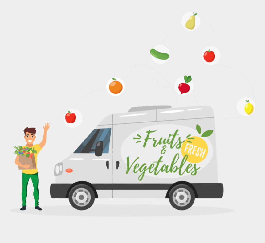 clipart fruits and veggies, Cartoons - We Understand Your Business Needs And Can Provide Best - Fruits Delivery