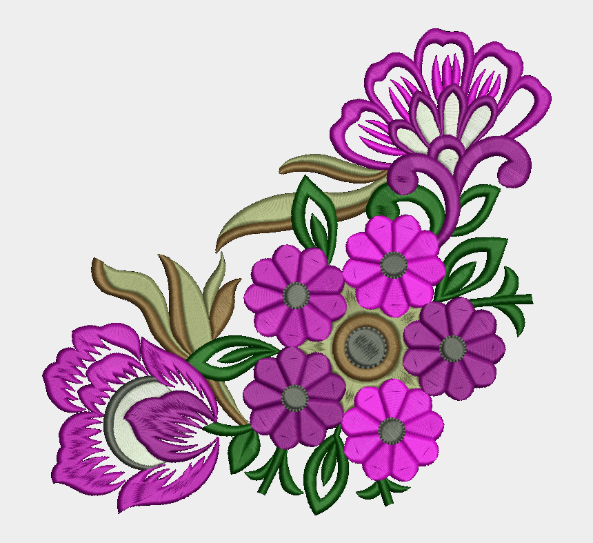 clipart for embroidery digitizing, Cartoons - #embroidery #digitizer - African Daisy