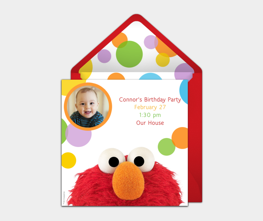 elmo birthday clipart, Cartoons - Free Elmo Birthday Party Invitations
