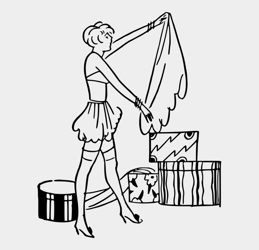 person putting on clothes clipart, Cartoons - Woman Computer Icons Finger Box Clothing - Line Art