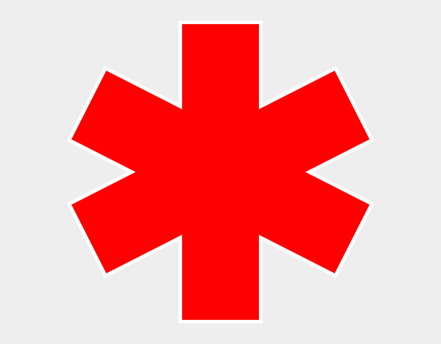 red stars clipart, Cartoons - Red Star Of Life Vector