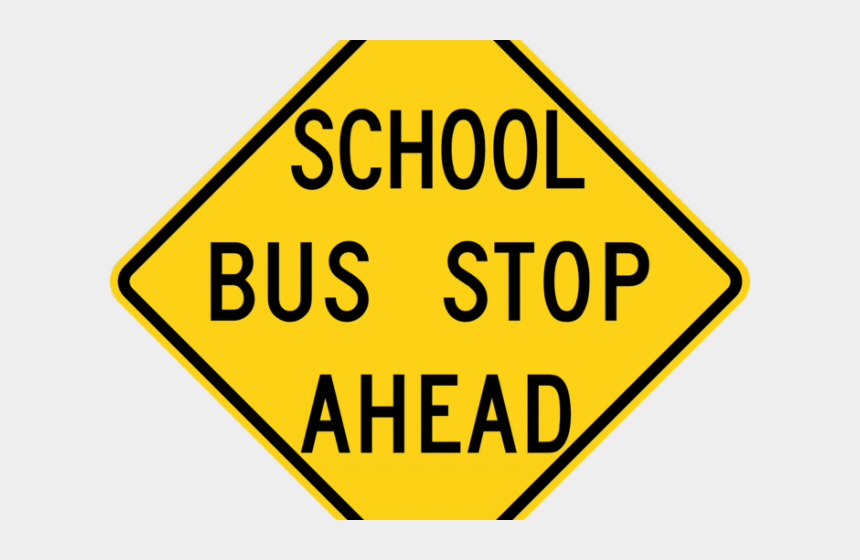 clipart of stop sign, Cartoons - Driving Clipart Bus Stop Sign - Stop Sign