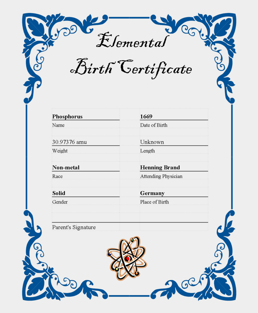 birth certificate clipart, Cartoons - Certificate Template Png - Wedding Border Design Png
