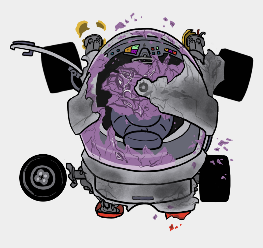 looking forward clipart, Cartoons - Destroyed Car Png - Illustration