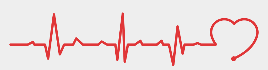 heart beating clipart, Cartoons - Heartbeat Line Png - Heart Beat Rate Png