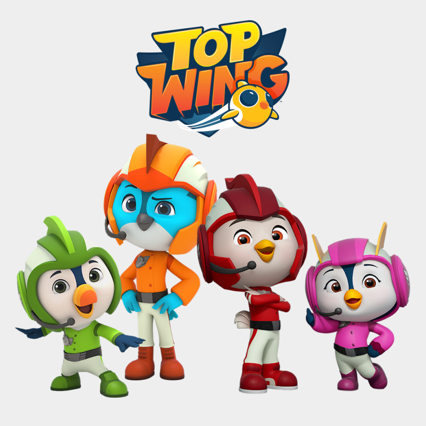 hot wings clipart, Cartoons - Top Wing Full Episodes And Videos On Nick Jr - Top Wing