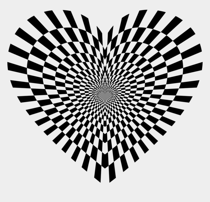 checker board clipart, Cartoons - Optical Illusion Optics Drawing Penrose Triangle Cc0 - Black Hole 2 D