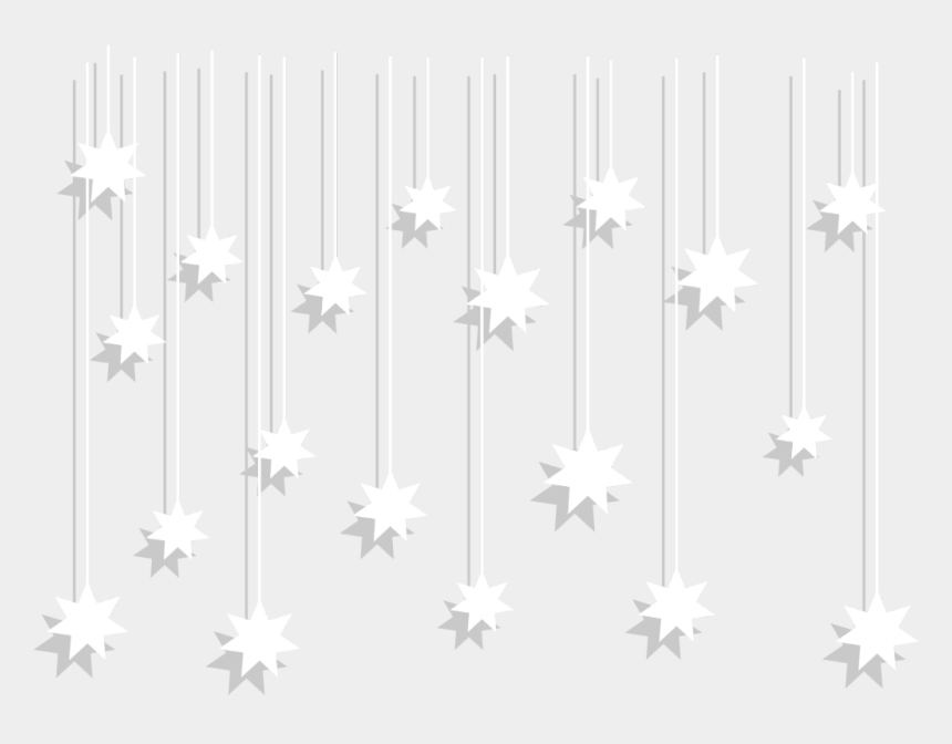 hanging stars clipart, Cartoons - #ftestickers #stars #hanging #white - Commonwealth Star Australian Flag
