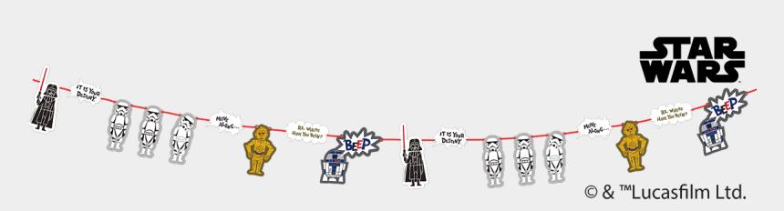 tassel garland clipart, Cartoons - Star Wars Paper Cut Party - Star Wars