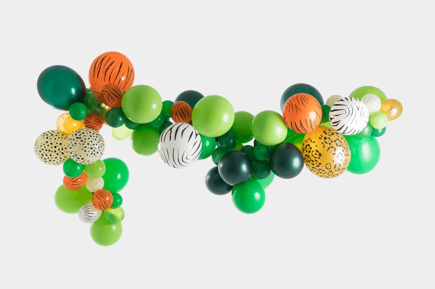tassel garland clipart, Cartoons - Jungle Balloon Garland Kit - Bead