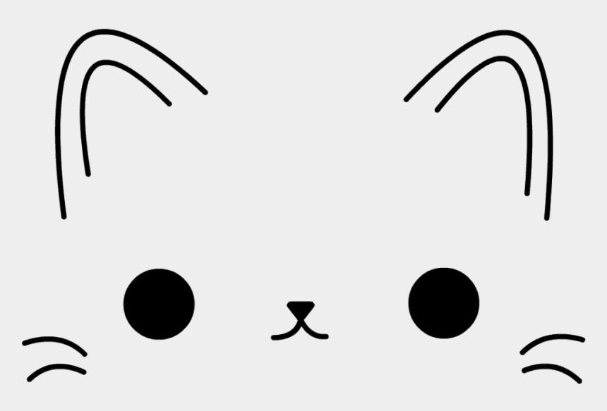 Cute Cat Face Free Svg Cliparts Cartoons Jing Fm