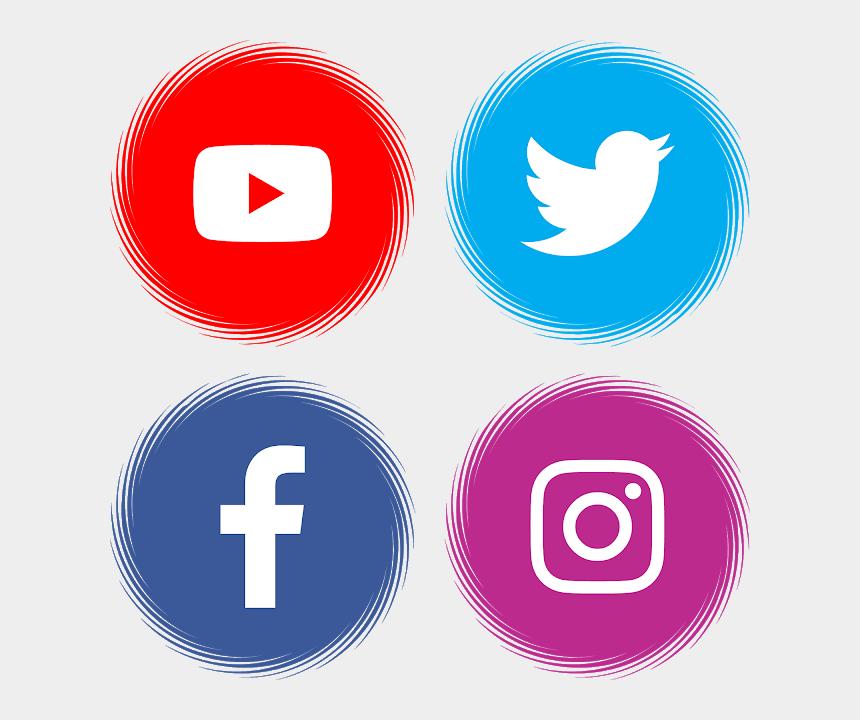 youtube logo clipart, Cartoons - Logo Facebook, Youtube Logo, Button Frames, Apps App, - Facebook And Instagram Logo Png