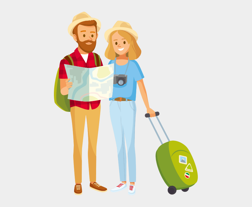 tourists clipart, Cartoons - Tourist Png, Png Collections At Sccpre - Tourist Png