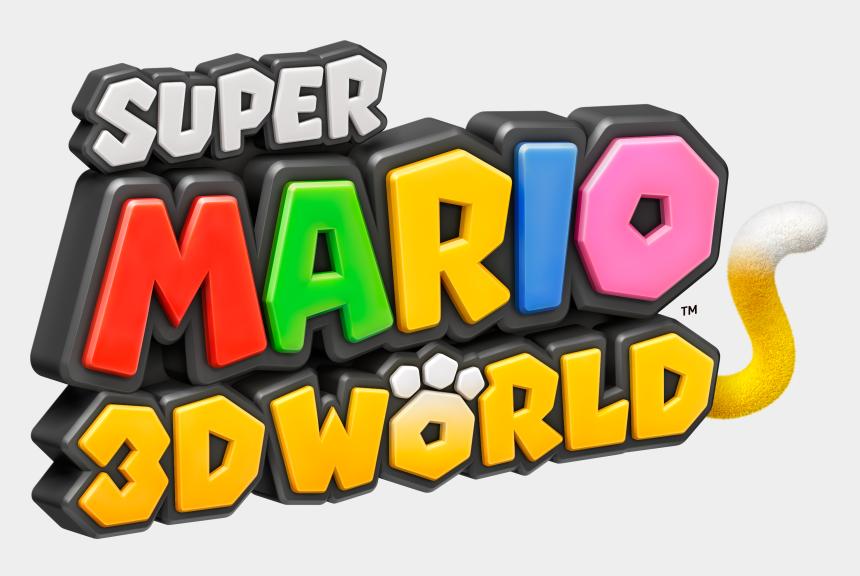 super star clipart, Cartoons - Super Mario Clipart One Star - Super Mario 3d World Logo