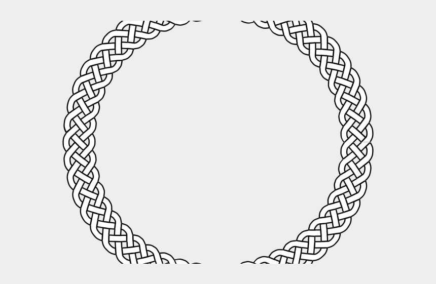 rope circle clipart, Cartoons - Rope Clipart Circular - Braided Rope Clipart