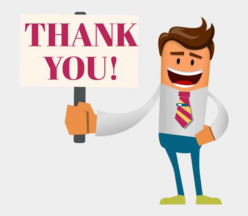thank you for your order clipart, Cartoons - Thank You Your Submission Has Been Successfully Sent - Thank You Man