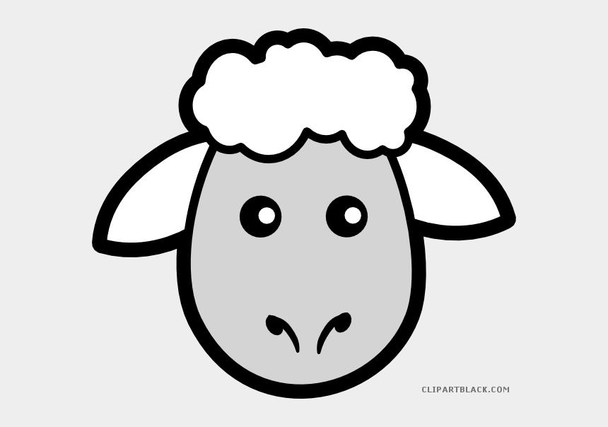 ram skull clipart, Cartoons - Cartoon Animal Free Black White Images Clipartblack - Draw A Sheep Head