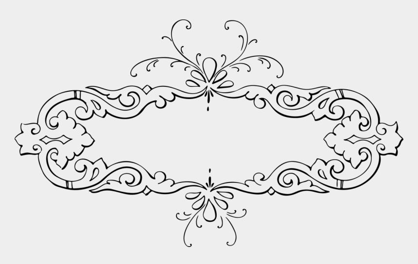 calligraphy flourish clipart, Cartoons - Calligraphy Drawing Pattern Design - Frame Kaligrafi