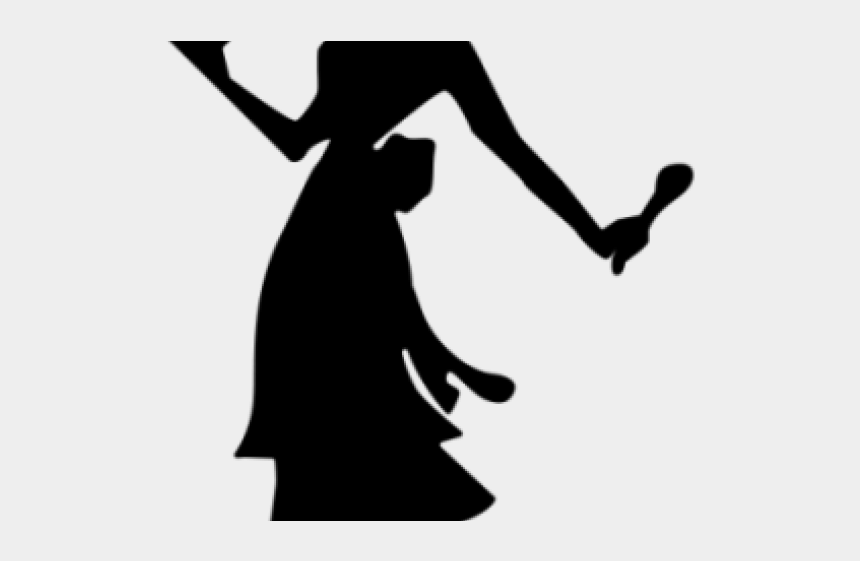 kitchenclipart, Cartoons - The Kitchen Clipart Pioneer - Woman Holding Cake Silhouette
