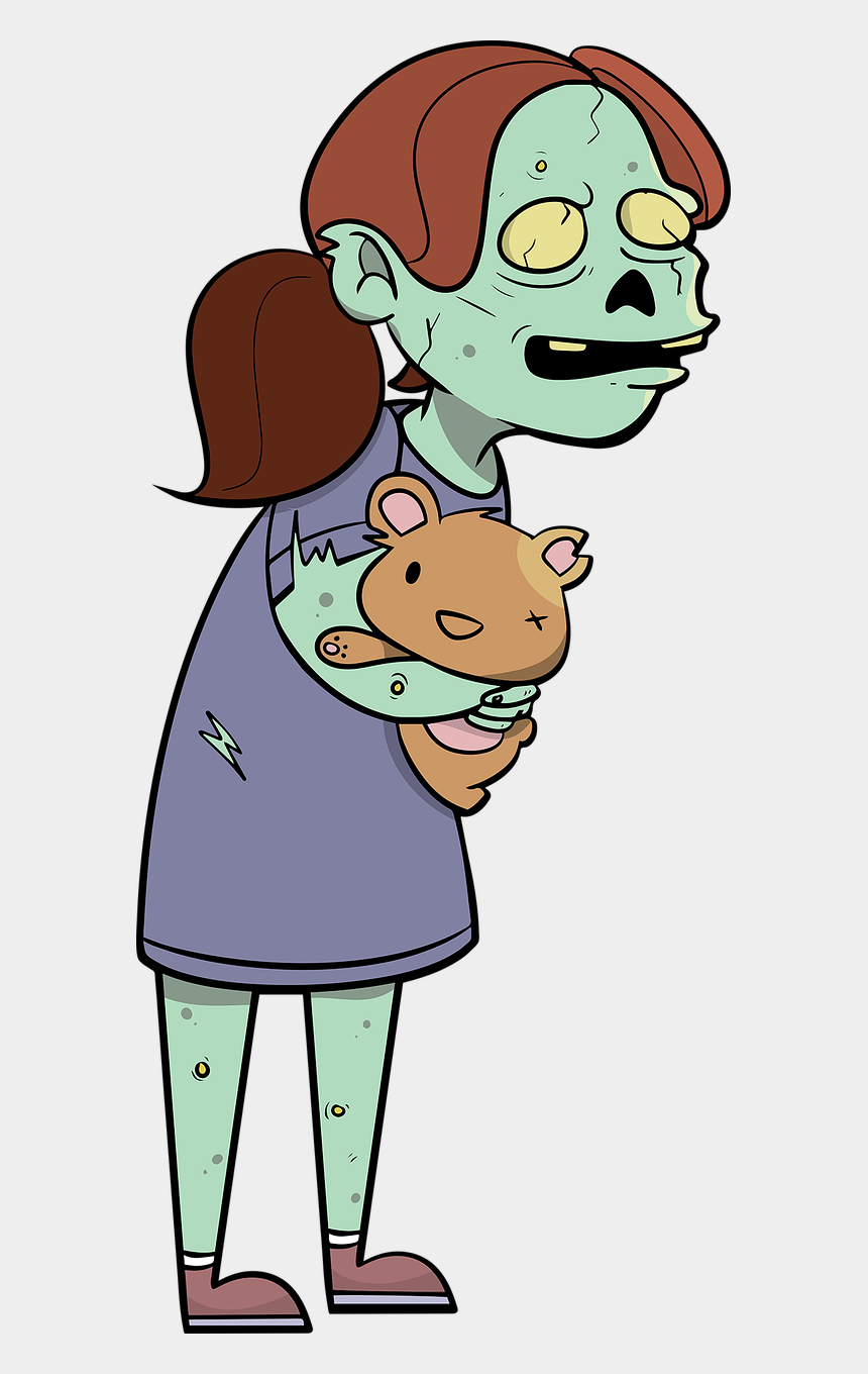scary zombie clipart, Cartoons - Zombie Scary Zombies Free Picture - Zombie