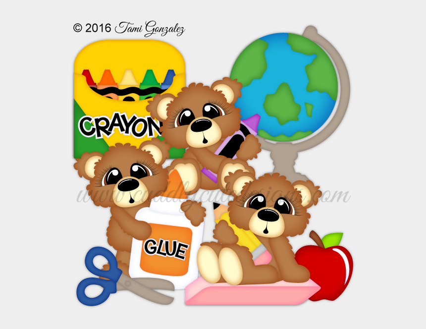 cute school supply clipart, Cartoons - 00 Sale $2 - Cartoon
