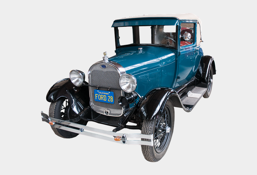 model t ford clipart, Cartoons - Model T, Ford, Old, Car, Classic - Ford Model A Png