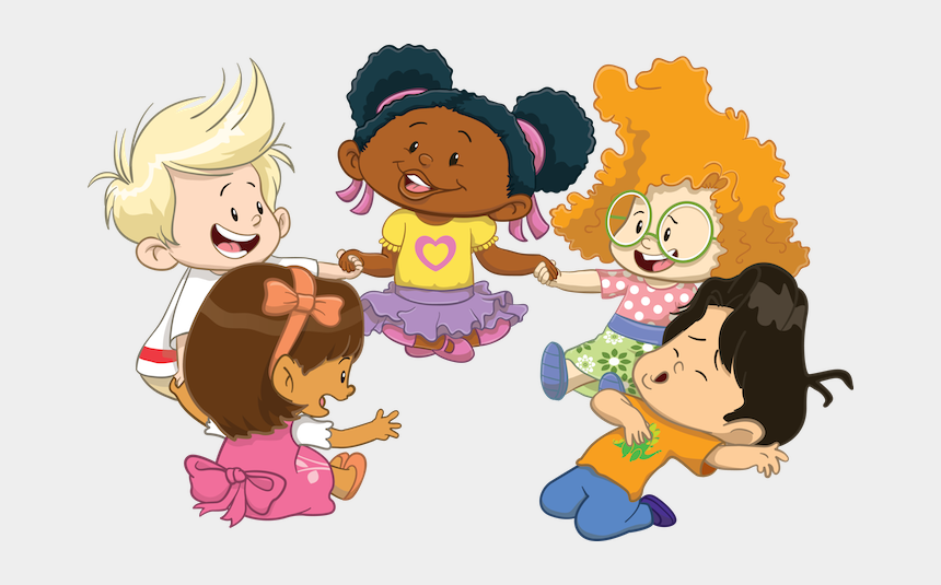 children playing hide and seek clipart, Cartoons - When My Children Play With The Little People® Characters, - New Character Little People 2013