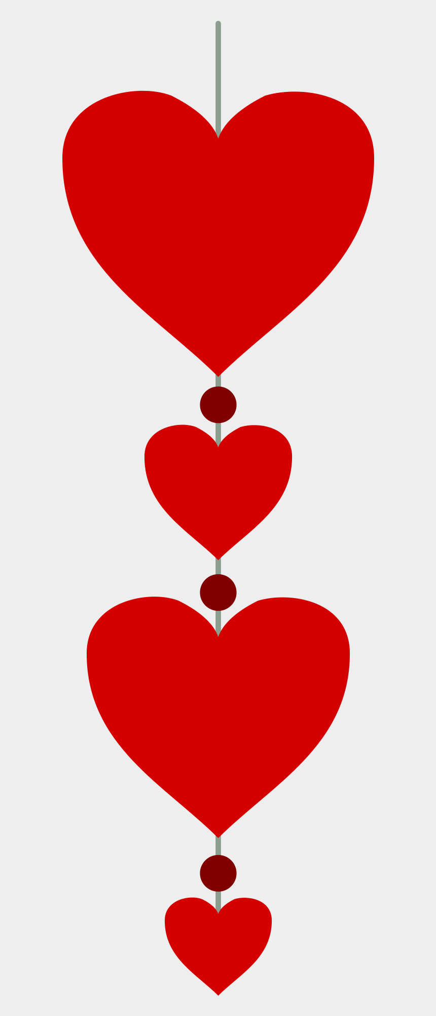 person remembering something clipart, Cartoons - Remember To Book Your Valentine's Day Meal Early You - Vertical Line Of Hearts
