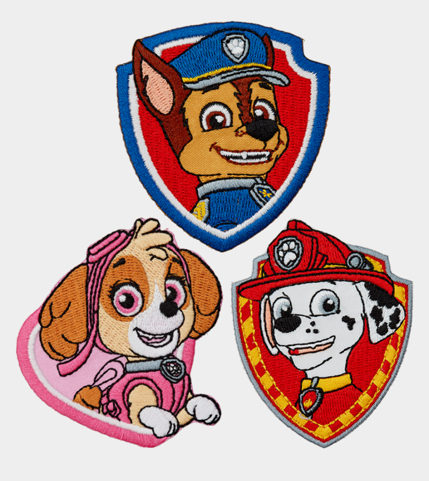 paw patrol badge clip art, Cartoons - Assortment Paw Patrol Article - Parches Para Ropa De La Patrulla Canina