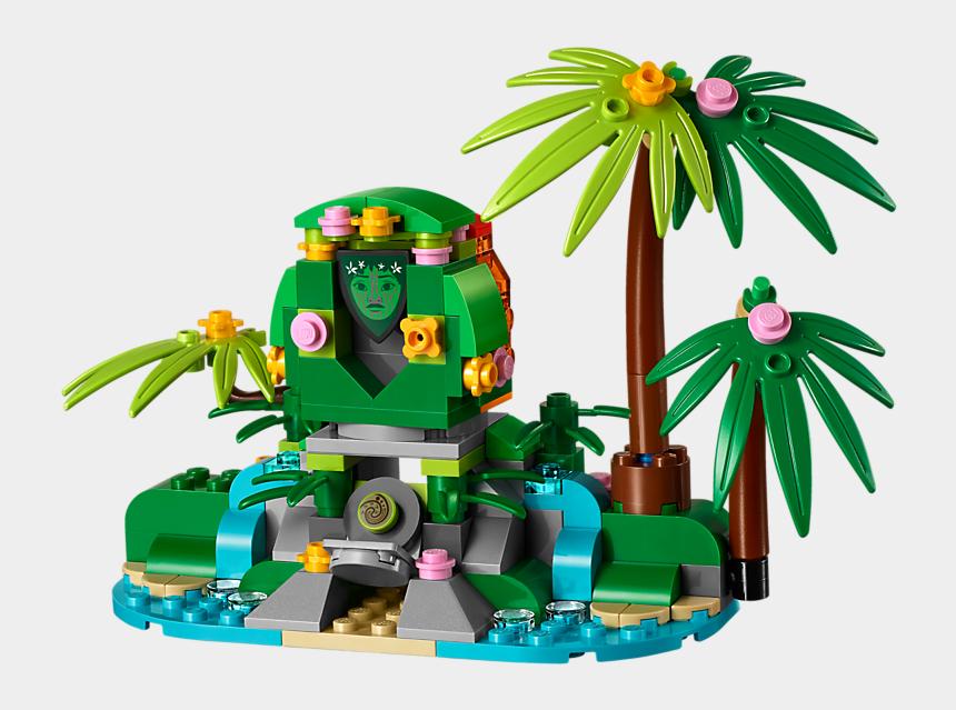 Moana Te Fiti Png - Lego Moana Ocean Voyage, Cliparts & Cartoons