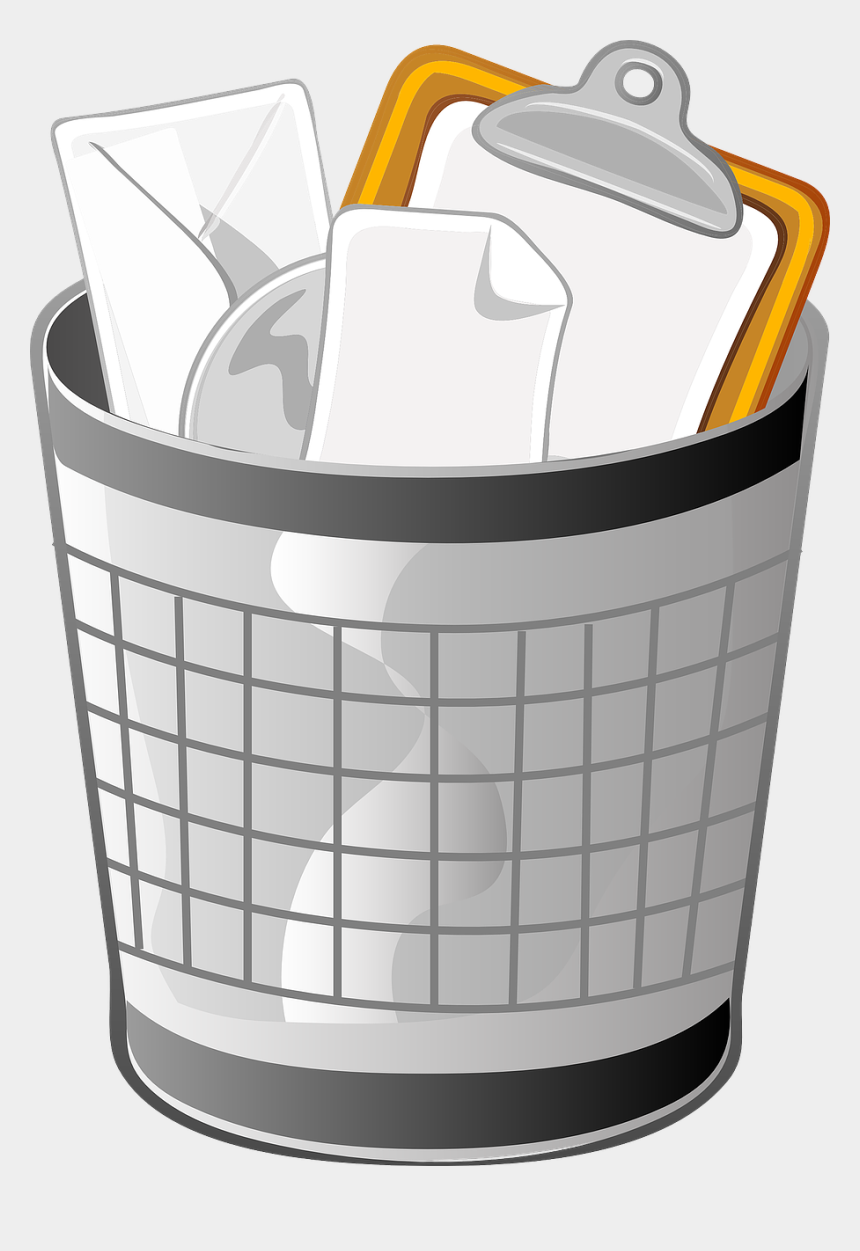 clean up clipart, Cartoons - Tips For Cleaning Out Files And Programs - Trash Can Clip Art