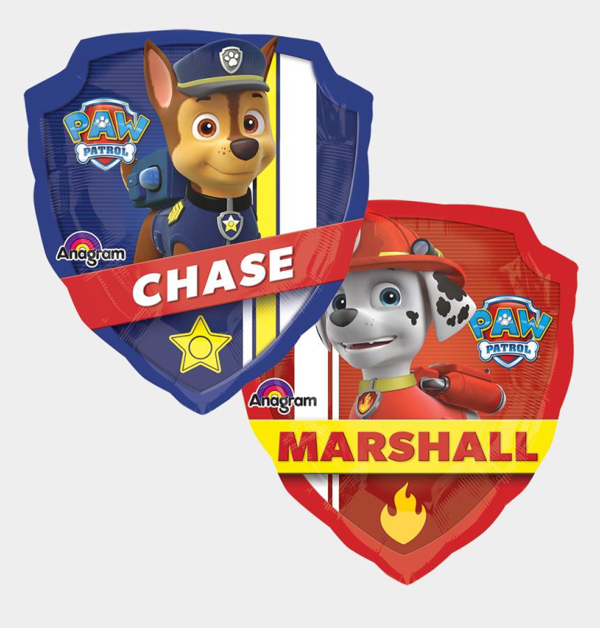 paw patrol badge clip art, Cartoons - Paw Patrol - Paw Patrol Supershape Foil Balloon