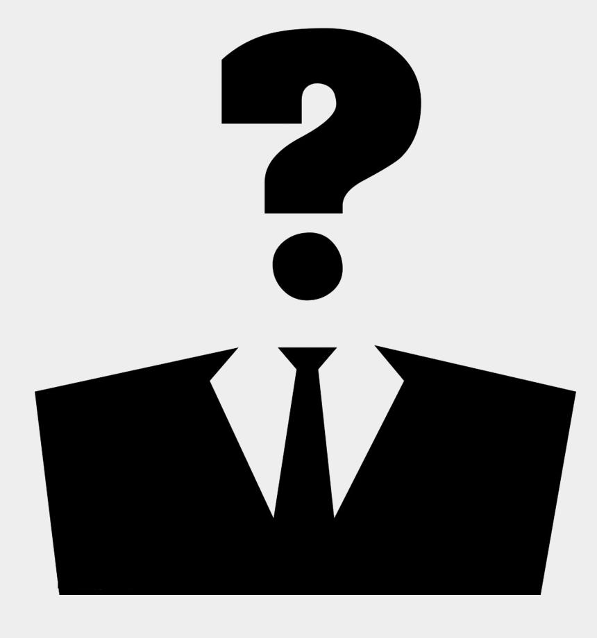 suit clipart, Cartoons - Anonymous Clipart Suit Silhouette - Visage Point D Interrogation