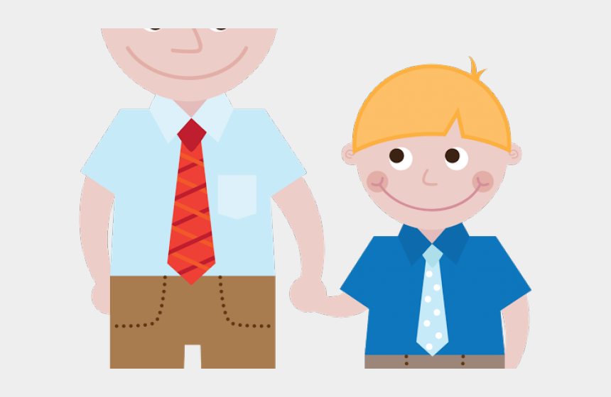 father's day clipart, Cartoons - Fathers Day Clipart Piggyback - Father And Son Cute Clipart