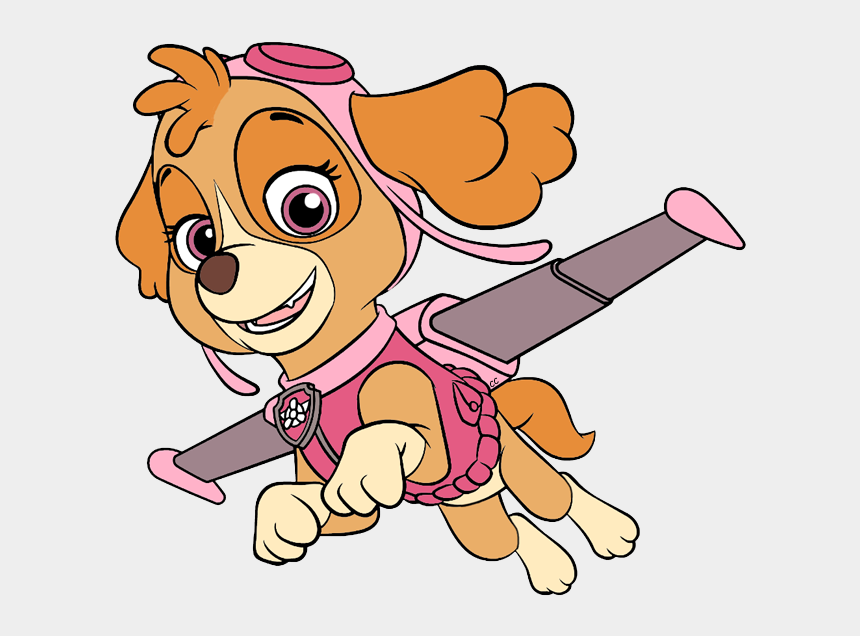 paw patrol clip art, Cartoons - Clip Art Cartoon Rubble Skye Zuma About - Paw Patrol Skye Clip Art