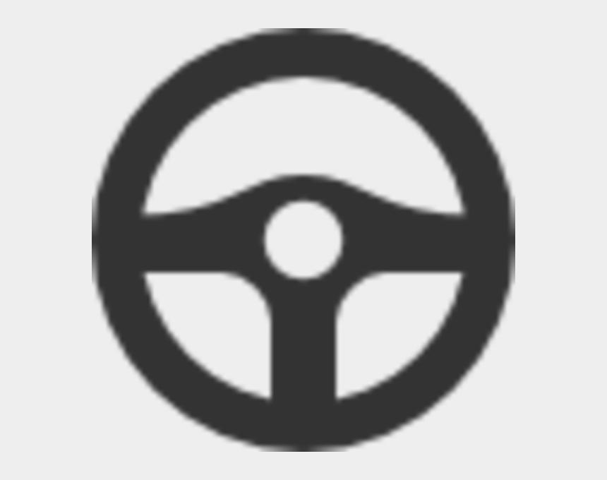 steering wheel clipart, Cartoons - Blue Steering Wheel Icon
