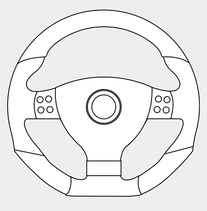 steering wheel clipart, Cartoons - Rim Drawing Sketch - Drawings Of Steering Wheel
