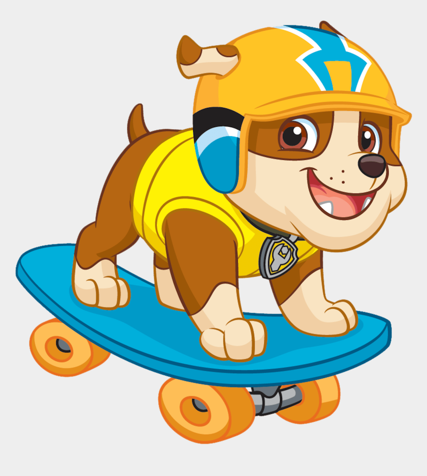 paw patrol clip art, Cartoons - Download Free Printable Clipart And Coloring Pages - Rubble Paw Patrol Clipart