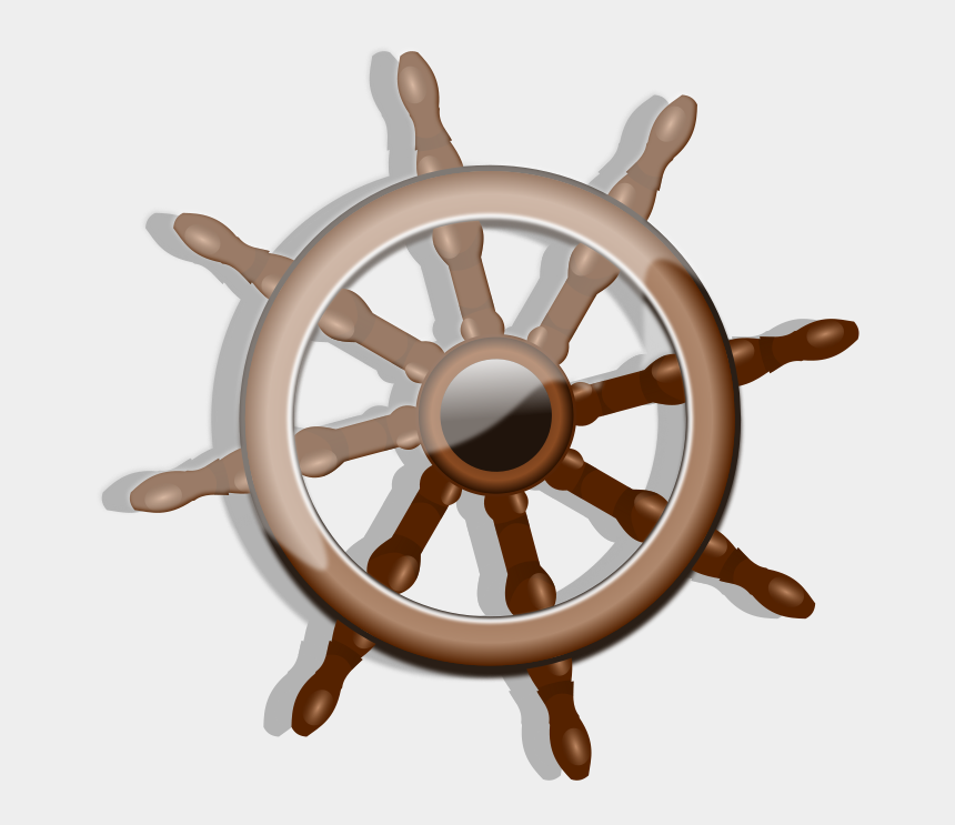 steering wheel clipart, Cartoons - Png Free Stock Ships Wheel Clipart - Rudder Clipart