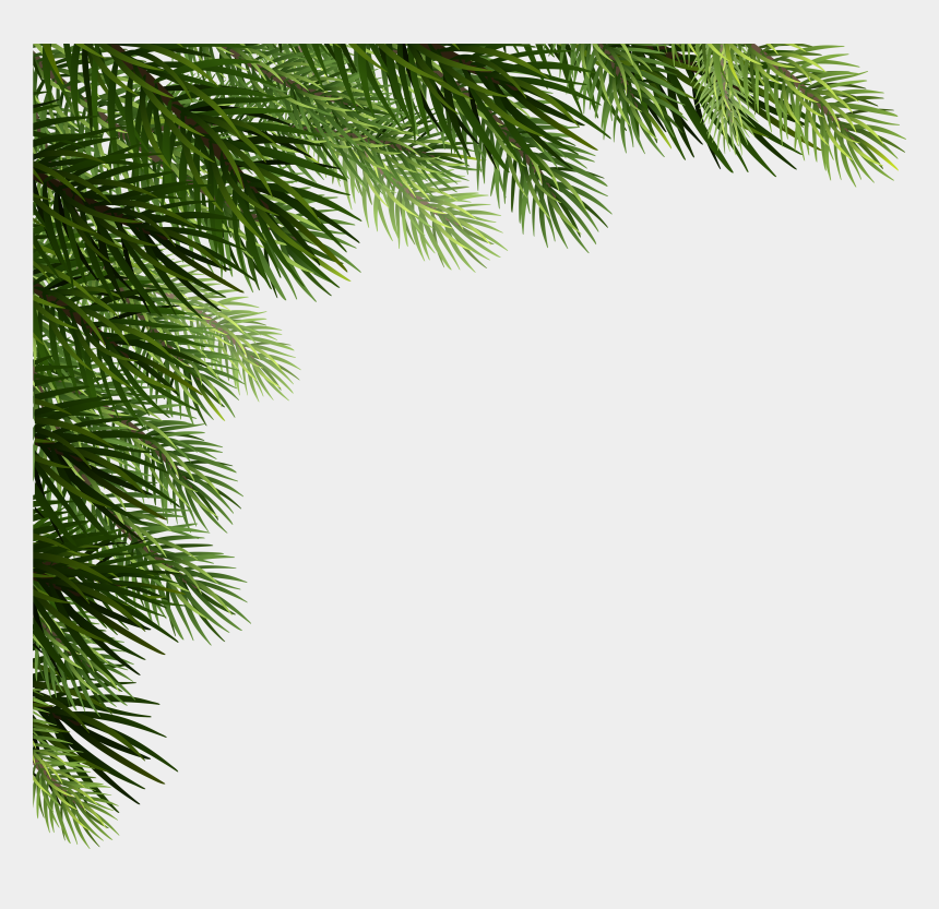 pine cone clip art, Cartoons - Christmas Pine Png - Corner Christmas Tree Png