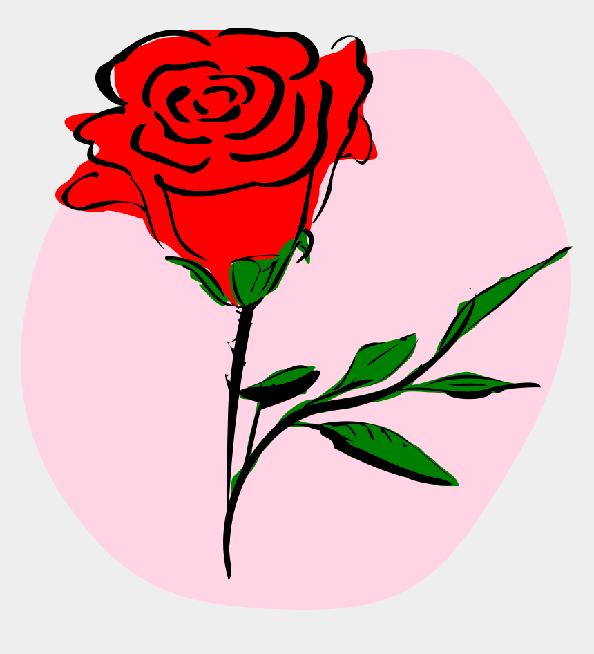 valentines clipart, Cartoons - Valentines Day Flowers Clipart - Rose Clipart